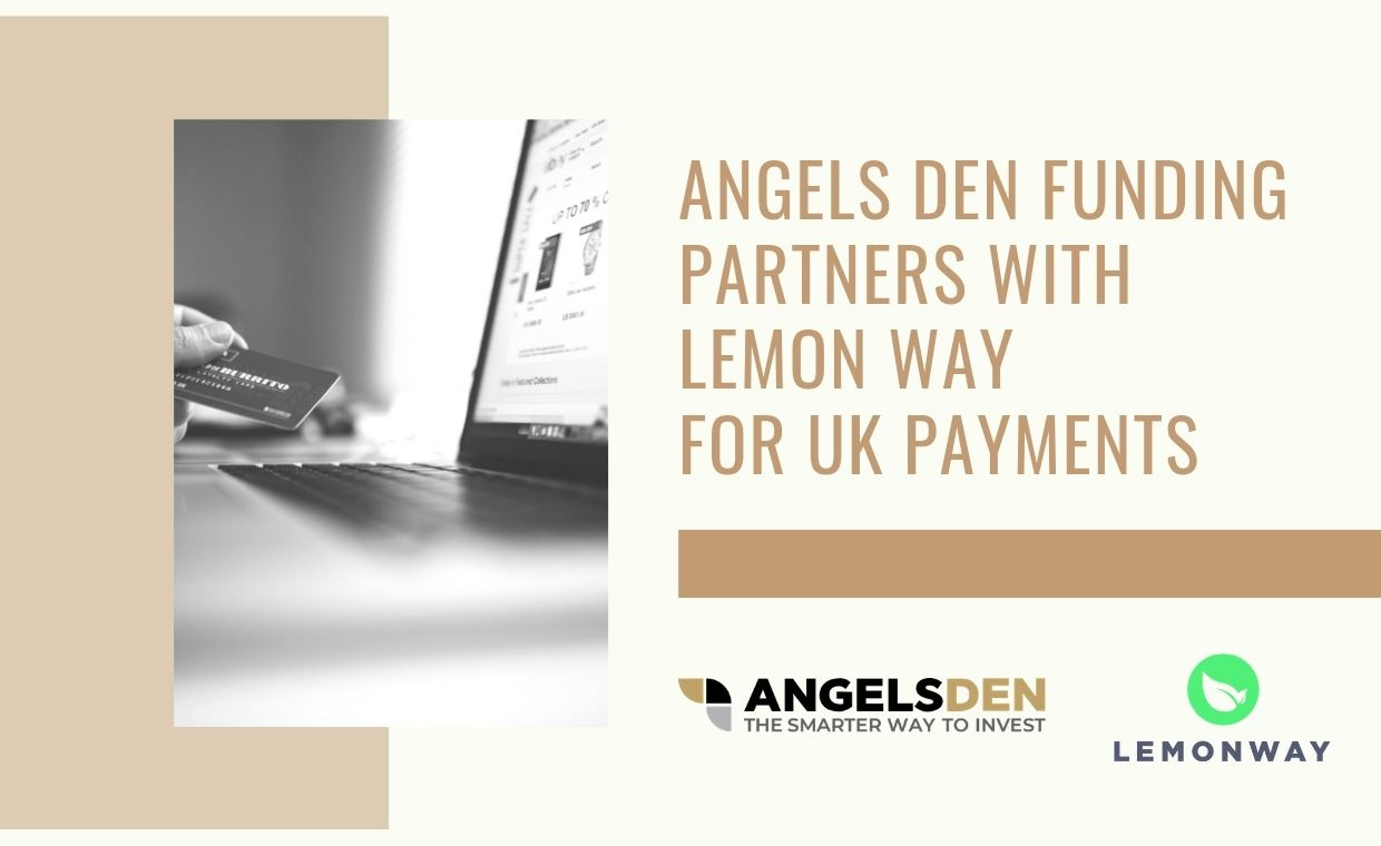 Angels Den Funding in partnership with Lemon Way